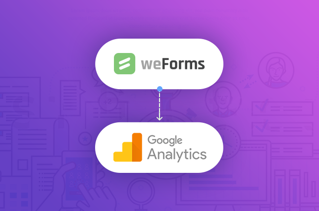 weForms provides a Google Analytics and WordPress integration for your contact forms
