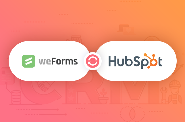 weForms provides a HubSpot and WordPress integration for your contact forms