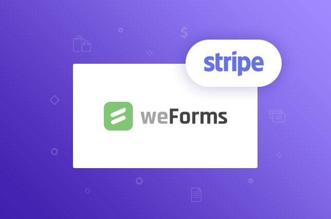 weForms provides a Stripe and WordPress integration for your contact forms to allow you to take payments