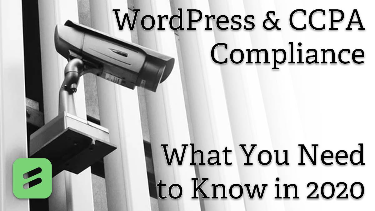 CCPA compliance for WordPress Contact Forms